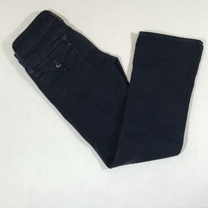 Hudson jeans Beth mid-rise boot jeans in navy